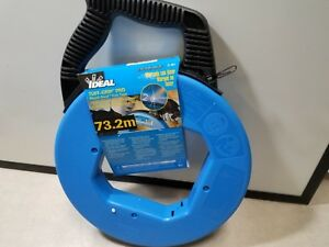 Fish Tape 1 8 In X 240 Ft blued Steel Ideal 31 057 New Fast Usa Shipping