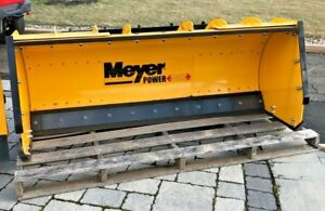 Meyers Snow Plow Snow Pusher Power Box 58 Expands 5 8 53100