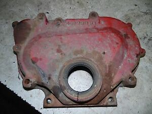 International 574 Tractor Front Engine Cover