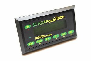 Scadapack Vision 10 New Panel Interface Terminal For Modbus Plcs Rs 232 13844
