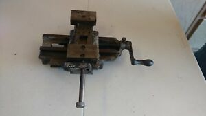 Vintage Lathe Compound Cross Slide Vise Tool Bit Holder Model 7051 Turret Mill