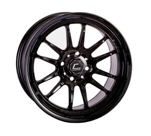 Cosmis Racing Xt206r 15x8 30 4x100 Black set Of 4