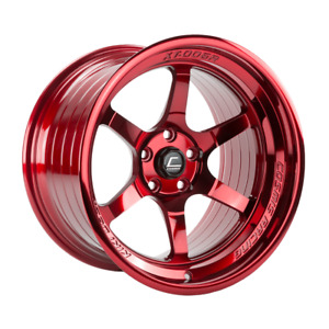 Cosmis Racing Xt006r 18x9 5 10 5x114 3 Hyper Red set Of 4