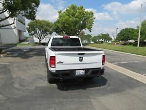 Black Horse Armour Rear Bumper Dodge Ram 1500 Protection Guard 2009 2018
