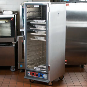 Metro Non insulated Heated Proofing And Holding Cabinet With Clear Door