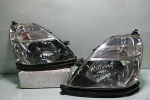 Jdm Honda Stream Rn1 Rn3 Front Hid Clear Headlights Lamps Lights 1 Pairs