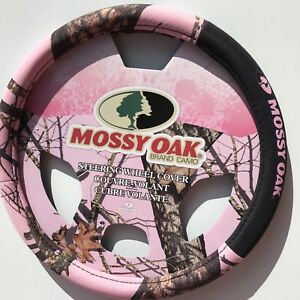 Valentine S Day Pink Camo Mossy Oak Steering Wheel Cover One Size Fits Most Nwt