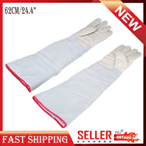 Cryogenic Gloves Ln2 Liquid Nitrogen Protective Lab Waterproof Cold Frozen Work
