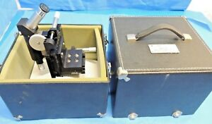 W a s 1500 Toolmakers Microscope Carrying Case Tool Makers Ultratech Stepper