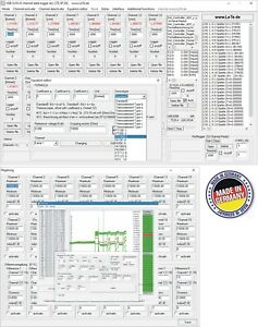 Usb Data Logger Temperature Humidity Pt1000 Pt100 Thermocouples 32 Channel