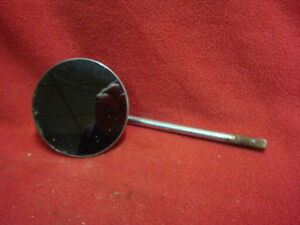 Vintage Side Exterior Mirror Round 4 Early Auto Truck Motorcycle
