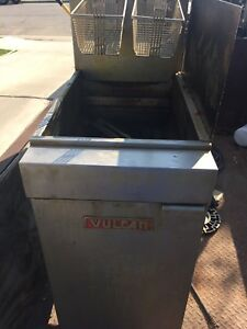 Vulcan Lg Series Deep Fryer 50 Lbs Capacity Model Lg300 Untested Local Pickup
