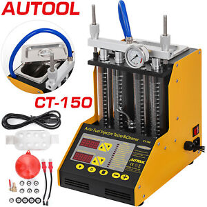 Original Autool Ct150 Ultrasonic Fuel Petrol Injector Cleaner Tester Us Stock