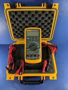 Fluke 787 Processmeter Very Good Condition Screen Protector Case