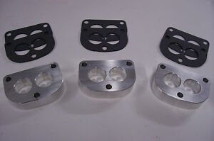 Fits Stromberg 97 48 Holley 94 Intake Manifold Spacer Tri Power 3x2 Riser 3pac D