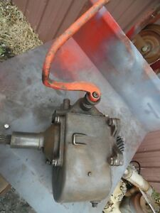 Rare Sherman Combination Transmission Ford Tractors 1958 62