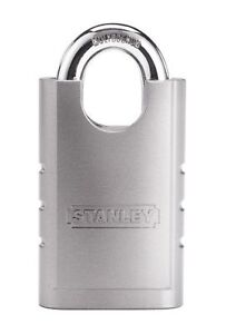 Cut Resistant Shrouded Hardened Steel Security Padlock For Cabinet Drawer Home