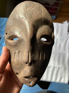 Very Old African Pasport Mask