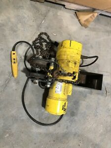 1 Ton Electric Budgit Chain Hoist 1 Phase 1 2 Hp