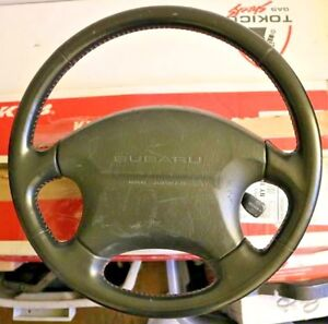 2000 Subaru Impreza 2 5 Rs Oem Leather Steering Wheel Used