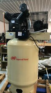 Ingersoll Rand Type 30 10 Hp 120 Gallon 3 Phase Recpricating Compressor