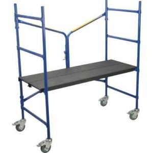 Louisville Ladder Mini fortruss Portable Steel Scaffold