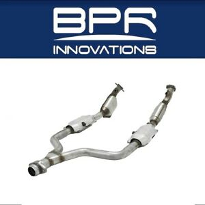Flowmaster Catalytic Converter 2 25 In Out For 99 04 Mustang V6 2020023