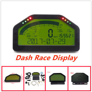 New Automotive Universal Multi Function Dash Race Display For 12v Universal Cars