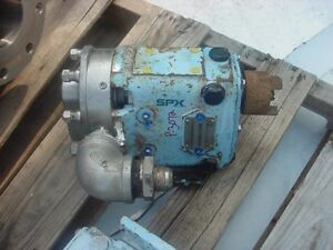 1 5 Inch Waukesha Stainless Steel Positive Displacement Pump Model 015 U1