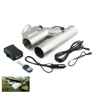 Universal Car 2 5 Dump Valve Electric Exhaust Cutout With Wireless Remote