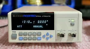 Ando Aq3150 Bench Top Optical Variable Attenuator