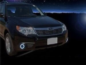 Halo Fog Lamps Driving Light Kit For 2009 2010 2011 2012 2013 Subaru Forester