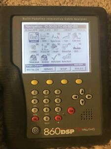 Trilithic 860 Dspi Triple Play Cable Meter