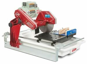 New Mk Diamond Mk 101 Trim Saw 1 1 2 Hp 10 Wet Cutting Tile Saw W Rock Vise