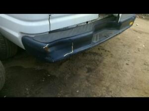Rear Bumper With Step Bumper Painted Fits 94 14 Ford E150 Van 8363307