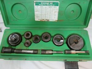 Greenlee 835 Hydraulic Knockout Punch Driver Set