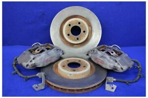 2011 2014 Ford Mustang Gt Track Pack Brembo 4 Piston Front Brake Calipers Rotors
