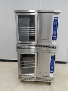 Imperial Double stack Gas Convection Oven New scratch Dent Icvg 2 b