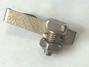 Vintage Burndy Industrial Electrician Electrical Wire Cable Connector Tie Clip