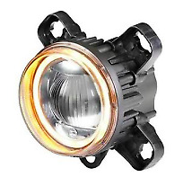Hella L4060 L4060 3 5 High Beam Halo Led Projector With Turn Signal 011988081