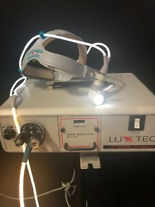 Luxtec Super Charged Xenon Series 9000 Model 9300 On Stand W Headlamp