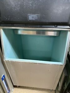 Commercial Ice Machine Full Cube With Storage Bin 350 Lb