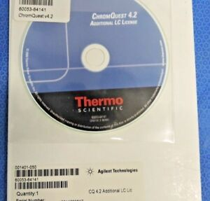 New Thermo Scientific Chromquest 4 2 Chromatography Data Software Spectrasystem