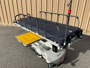 Stryker Big Wheel Stretcher With Xray Premier Used Medical