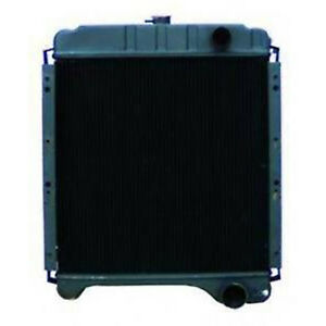 A172038 New Radiator For Case International Tractor 580 Super K Backhoe Loader
