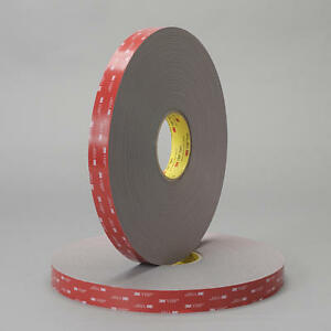3 4 X 60 Roll 3m Double Sided Acrylic Attachment Tape