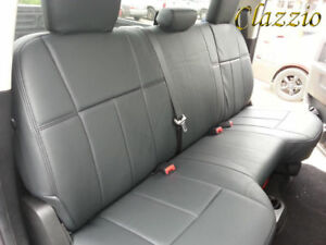 Clazzio Synthetic Leather Seat Covers For 2013 Dodge Ram Front Rear