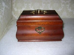 Rare Williamsburg Ap102 Don Works Oblong Tea Caddy