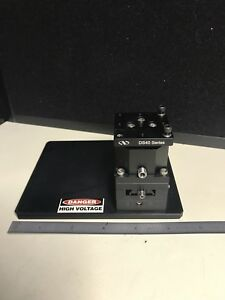 Newport Ds40 Compact Dovetail Linear Stage 14mm Xy 5mm Z 40x40x65 Mm Metric
