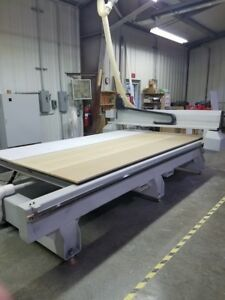 Used 2003 Multicam Mg305 Cnc Vertical Router Mill Milling Machine 8 Tool Er40